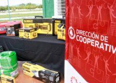 El Gobierno de San Juan entregó maquinarias a cooperativas beneficiarias del programa INDECO